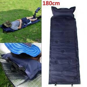 Thick Self Inflating 180*60cm Camping Pillow Roll Mat/Pad Sleeping Bed Mattress