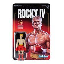 Ivan Drago Beat Up Final Round Rocky IV 3 3/4 Inch ReAction Figur Super7