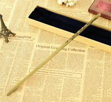 Wand Harry Potter Varita de Luna Lovegood Núcleo De Metal cosplay replica 1:1
