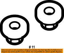 FORD OEM Rear Suspension-Front Lower Cntl Arm Nut W520216S441