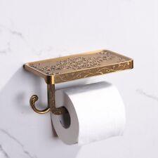 [EL]Home Toilet Paper Holder With Mobile Storage Rack Bracket Wall Mount