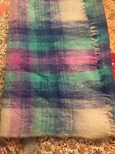 """The Bay"" Hudson's Bay Company Blanket 54"" x 70"" Made in Italy Wool Mohair Nylon"