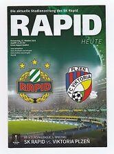 Orig.PRG   Europa League  2015/16   RAPID WIEN - VIKTORIA PLZEN  !!  SELTEN