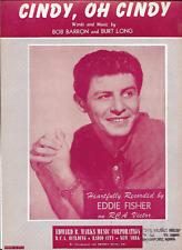 1956-SHEET MUSIC-CINDY, OH CINDY-EDDIE FISHER