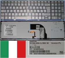 Teclado Qwerty Italiano HP DV7-7000 NSK-CJ1BW 9Z.N7XBW.10E 639396-061 Backlit