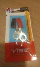 VIBE Audio RT8 12 V 8 AWG Gauge Cavo di ALIMENTAZIONE BATTERIA AUTO Terminali ad anello