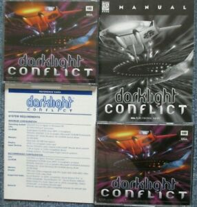PC Game Darklight Conflict Complete With Manual Used