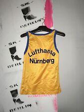 Puma shiny Shirt made Western Germany 80er TRUE VINTAGE Trikot Fitness ärmellos