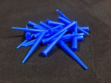 1000 x Tapered Plug Silicone Masking M3 M4 M5 Powder Coating Electroplating
