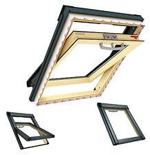 Dachfester Roto Q-4 54x78 Schwingfenster Holz incl. Eindeckram. 3059 CK02