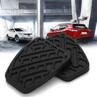 2x Für Nissan Qashqai Pedalgummi Bremspedal Kupplungspedal Pedalbelag