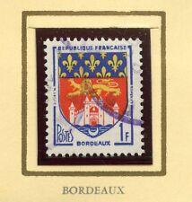 STAMP / TIMBRE FRANCE OBLITERE N° 1183  BLASON BORDEAUX