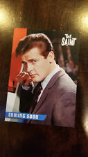 2017 UNSTOPPABLE CARDS UK ENGLAND PROMO CARD THE SAINT ROGER MOORE # PR3