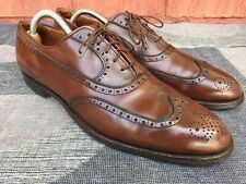 Alden New England Wing Tip Brown Dress Shoes 927 Size 11.