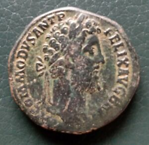 Commodus sestertius, Jupiter , g25,88