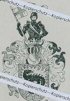 Hugo Ritter von Kraemer : Bamberg - Adelswappen - um 1915          Z 1-20