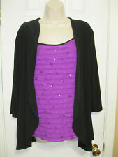 **ACW AMERICAN CITY WEAR ** Shirt Top Size ((3X)) 96% Polyester * 4% Expandex.