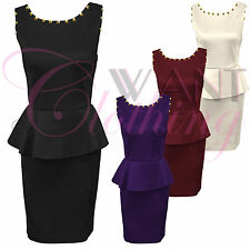 Unbranded Women's Scoop Neck Stretch, Bodycon Party Dresses