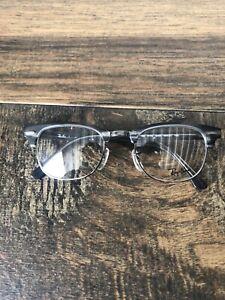 Ray Ban Eyeglasses RB 5154 5255 Silver/Black Marble Frame 49[]21 140 G17