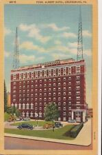 Postcard Penn Albert Hotel Greensburg PA