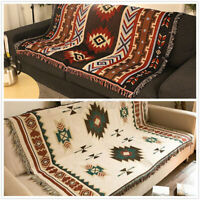 Rrea Rug Tapestry AZTEC Navajo Throw Blanket Sofa Cover Wall Hanging Throw