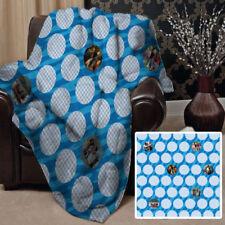 Couvertures bleus pour le lit Salle de jeux pour enfants
