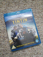 The Adventures Of Tintin - The Secret Of The Unicorn (Blu-ray, 2012)
