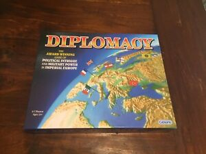 Diplomacy board game by Gibsons games Strategy Game Across Europe VGC Complete