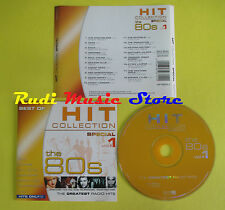 CD HIT COLLECTION THE 80S VOL 1 compilation 2003 TOTO LAUPER TYLER YOUNG (C6)