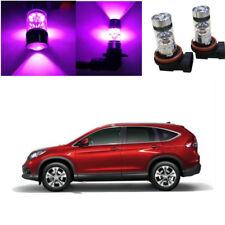 2X 100W LED High Power Fog Light Bulbs Pruple Fit For Honda CR-V 2002-2018