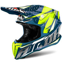 Airoh Twist Freedom Iron Blue MX Helmet Motocross Enduro M 57-58cm
