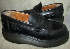 Dr. Martens Black Cushioned Sole Loafers Size 4 UK 5 US England Style 8640