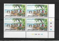 1995 Solomon Islands - Christmas Issue -Plate Block With Traffic Lights - MNH..