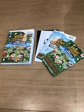 Animal Crossing: Let's Go to the City (Nintendo Wii Complete With Unused Code