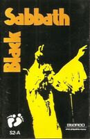 Black Sabbath ‎.. Black Sabbath.. cassette. Import