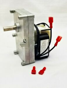 Englander Pellet Stove Auger Feed Motor, 1 RPM Counter Clockwise, PU-047040