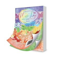 Hunkydory THE LITTLE BOOK OF FLUTTERBY RAINBOW LBK156 144 A6 Sheets All Design