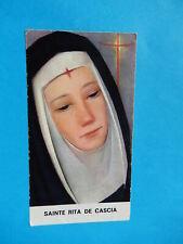 IMAGE PIEUSE HOLY CARD  SAINTE RITA DE CASCIA  PRIERE NICE THFR