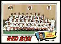 1977 Topps Team Card Red Sox #309 *Noles2148* 10=FreeShip