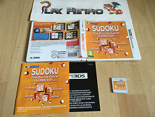 NINTENDO 3DS N3DS SUDOKU THE PUZZLE GAME COLLECTION COMPLETO PAL ESPAÑA