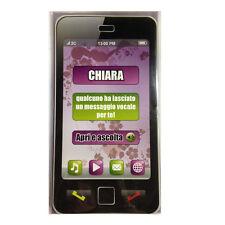 CUMPLEAÑOS tarjeta de cumpleaños musical en teléfono suena secretaría nome CLARA