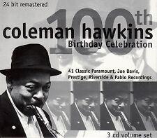 COLEMAN HAWKINS : 100TH BIRTHDAY CELEBRATION / 3 CD-SET - TOP-ZUSTAND