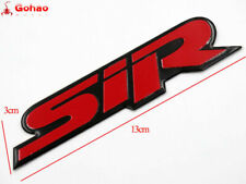 Honda Civic EK EG EJ CRX Racing Motor SIR Badges Emblem Decal Stickers Red NEU