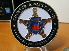 United States Secret Service Counter Assault Team CAT Challenge Coin