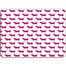 Mousepad Dachshund Mouse Pad Pink Puppies J00068