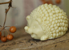 Soap Mold 3D Animal Hedgehog Silicone Soap Making Mould Candle Handmade Molds