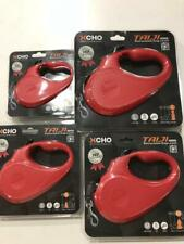 Retractable Dog Leash 26 -110 lbs  9ft 16ft  Red 360 degree D lock system