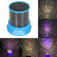 2017 New Kids Bedroom LED Moon & Star Light Projector Night Light Amazing Lamp