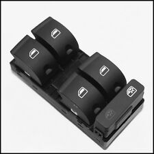 New Master Power Driver side Window Switch Panel Fit for Audi A4 B6 B7 Sedan