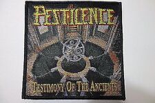 PESTILENCE TESTIMONY OF THE ANCIENTS WOVEN PATCH